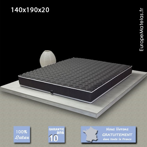surmatelas latex 140x190 maison design. Black Bedroom Furniture Sets. Home Design Ideas