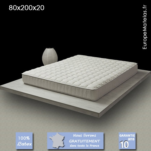 matelas 80x200 latex maison design. Black Bedroom Furniture Sets. Home Design Ideas