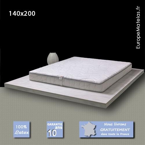 matelas memorylatex 140x200 m moire de forme vente de literie et de matelas en ligne. Black Bedroom Furniture Sets. Home Design Ideas