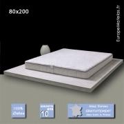 Matelas Memorylatex ® 80x200 à Mémoire de forme