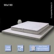 Matelas Memorylatex ® 90x190 à Mémoire de forme