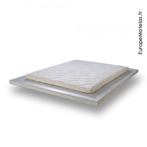 Surmatelas 100% Latex Naturel 90x200 - Natura
