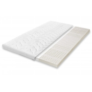 Surmatelas 100% LATEX 80x200 - âme respirante ANTI-TRANSPIRATION