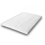 Surmatelas 100% LATEX 90x190 - âme respirante ANTI-TRANSPIRATION