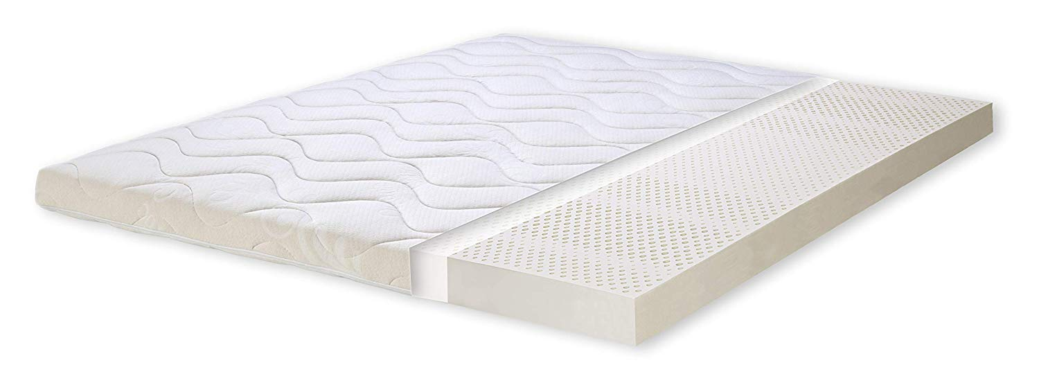 surmatelas latex naturel 140x200